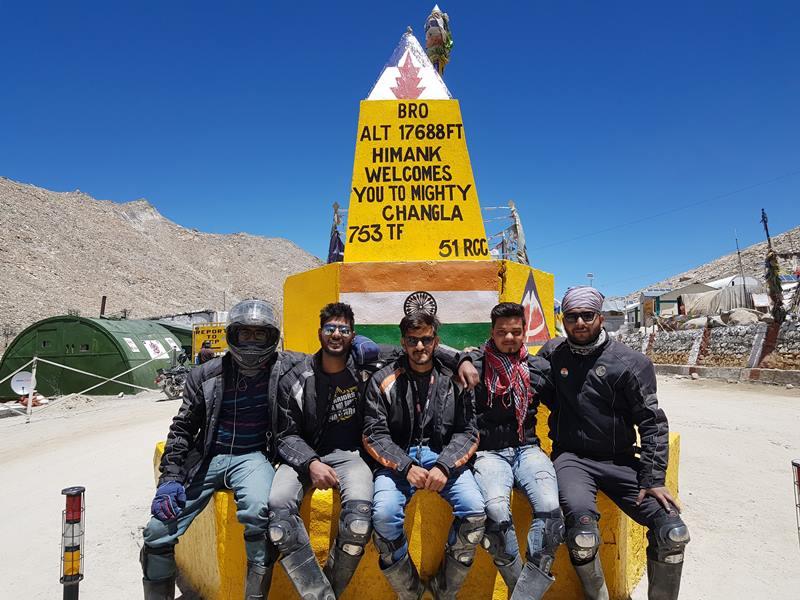 Hot Tea and Maggie while Trekking the Mountains changla pass Tripazzi jaipur bikers