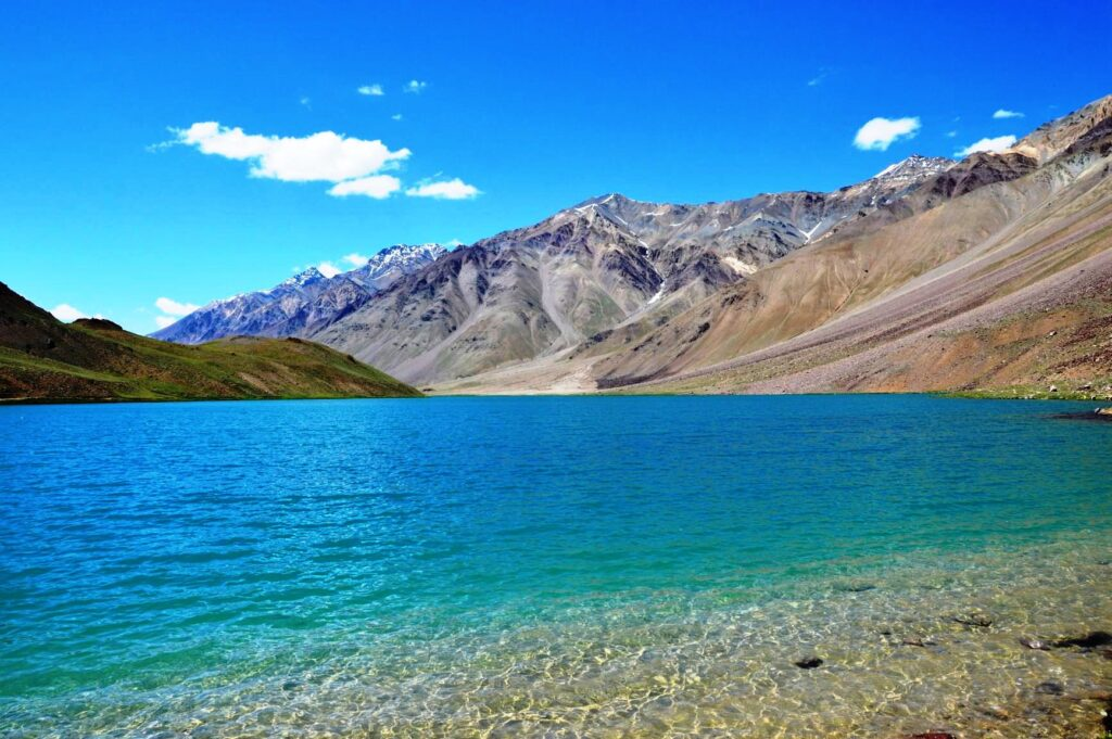now also know about the places surrounded by these 10 beautiful lakes Chandratal Lake Tripazzi